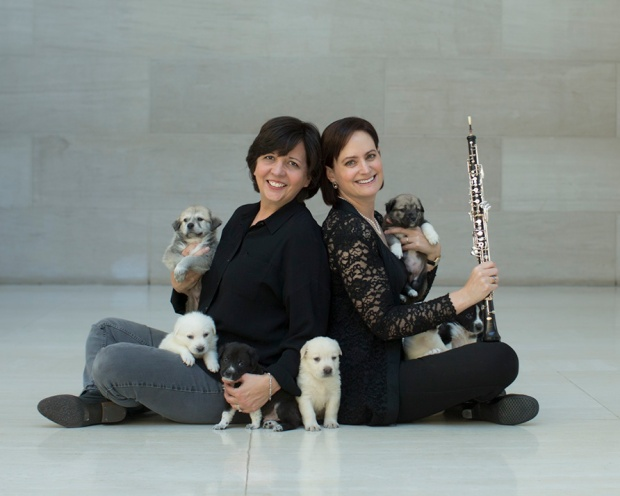 Photographer Teresa Berg and Dallas Symphony Orchestra's Erin Hannigan