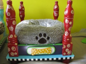 build a cool pet bed