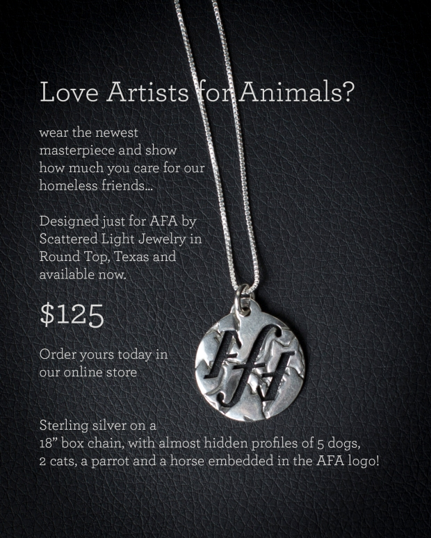 Artists for Animals pendant